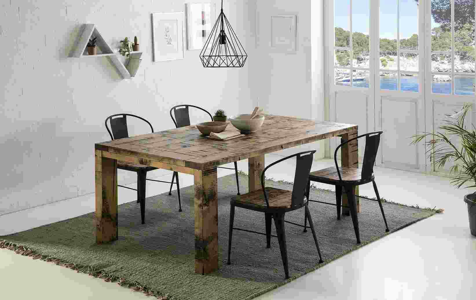 ambiente mesa y sillas comedor rustico y moderno - Create your Style ...